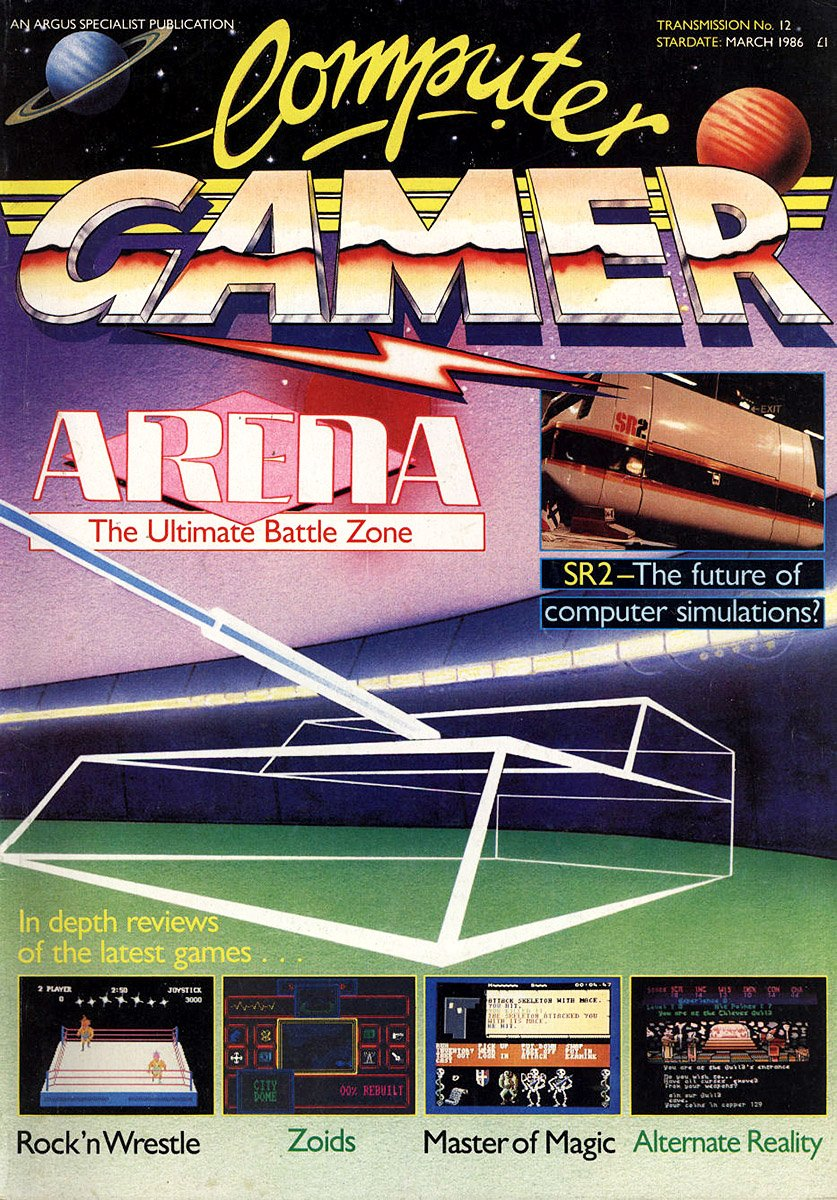 Computer Gamer Issue 12 March 1986
