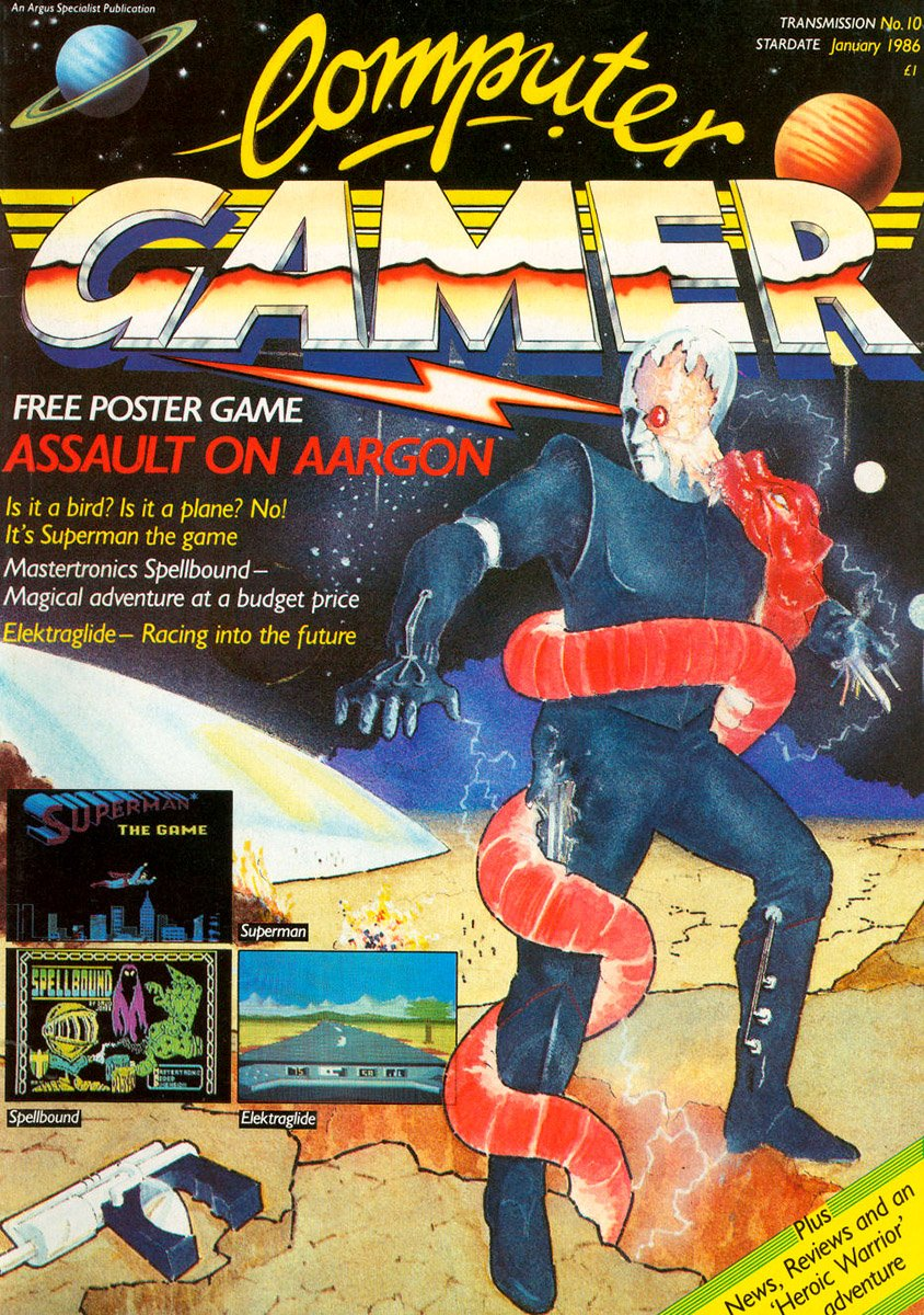 Computer Gamer Issue 10 January 1986