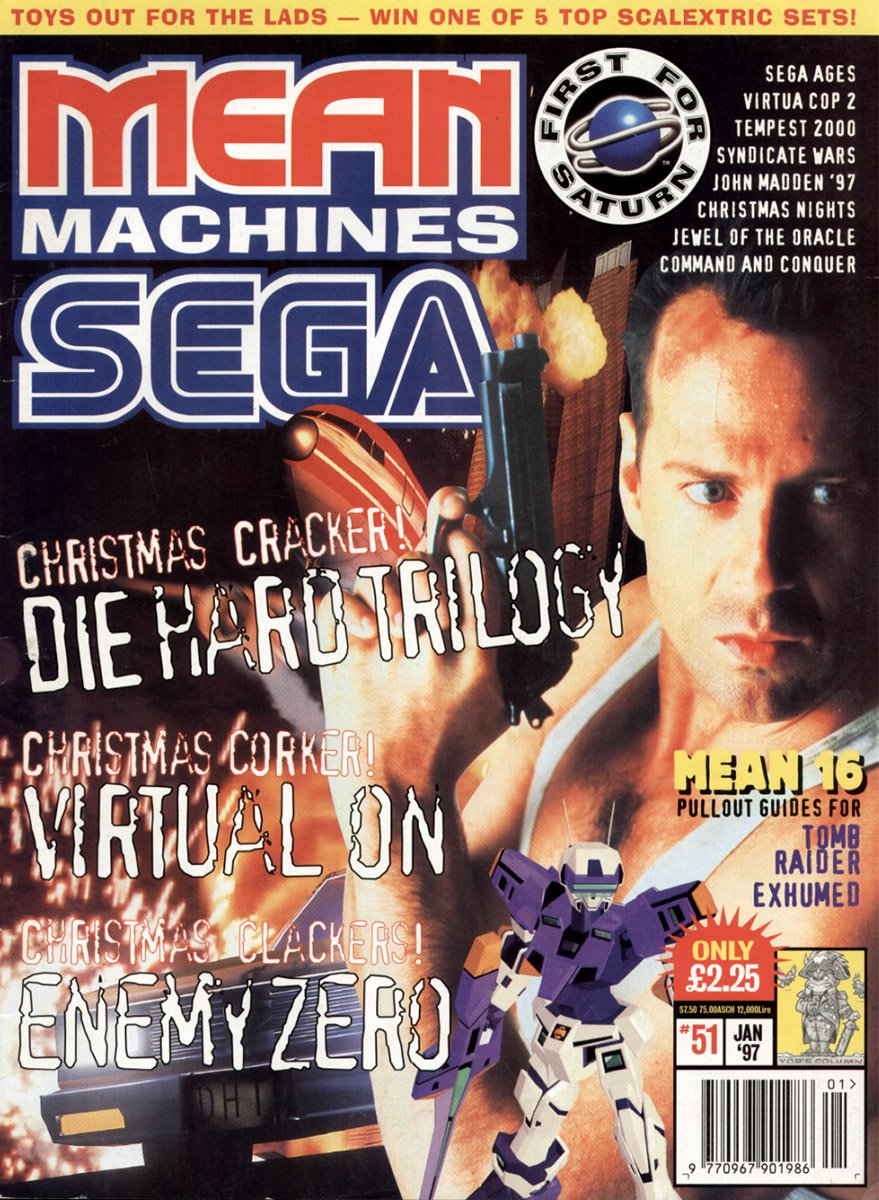 Mean Machines Sega Issue 51 (January 1997)
