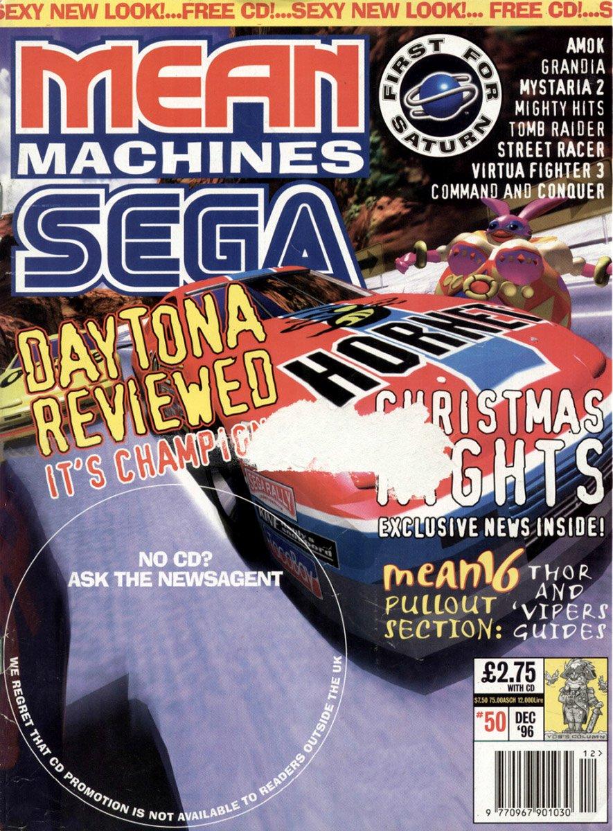 Mean Machines Sega Issue 50 (December 1996)
