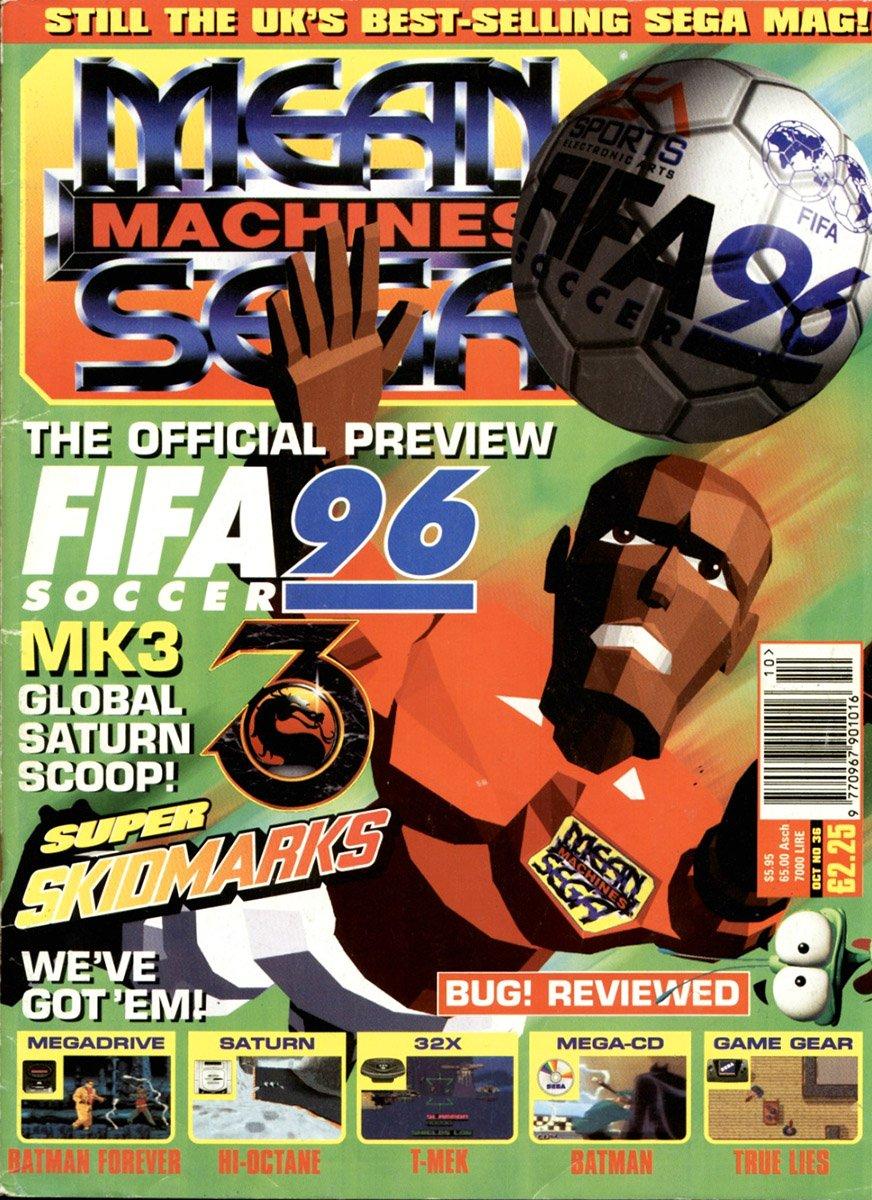 Mean Machines Sega Issue 36 (October 1995)