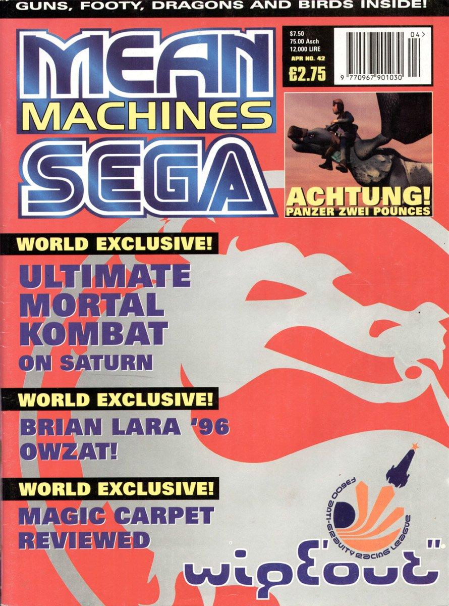 Mean Machines Sega Issue 42 (April 1996)
