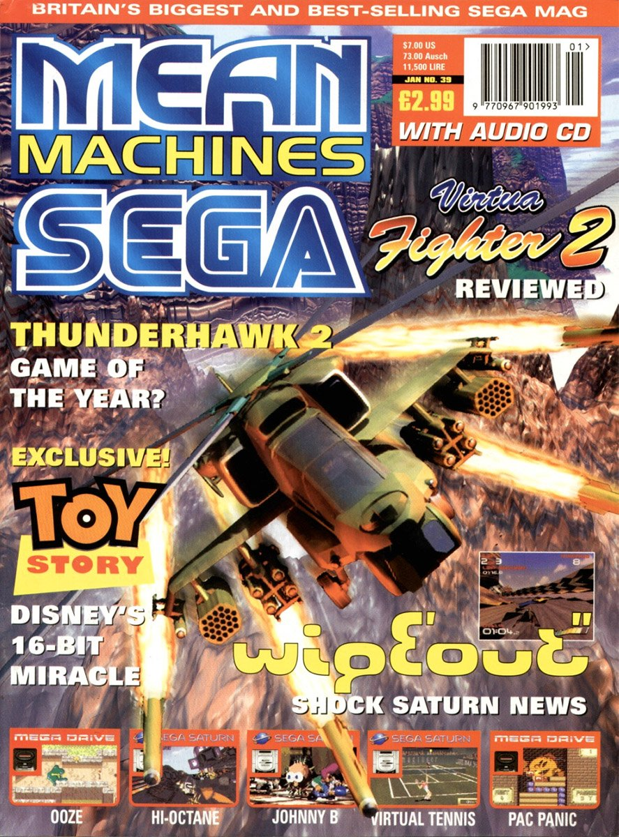 Mean Machines Sega Issue 39 (January 1996)