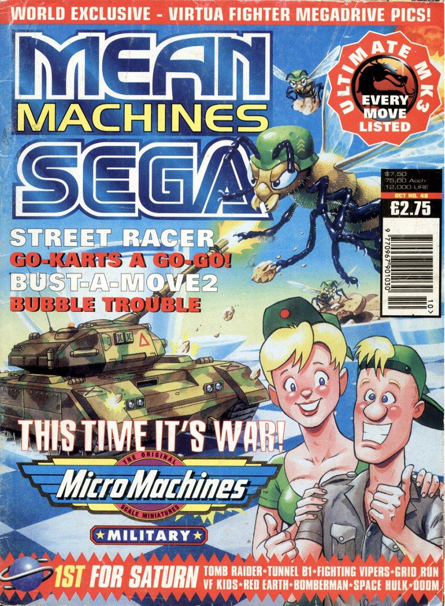 Mean Machines Sega Issue 48 (October 1996)