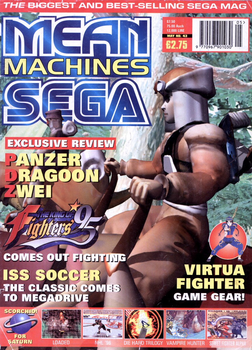 Mean Machines Sega Issue 43 (May 1996)