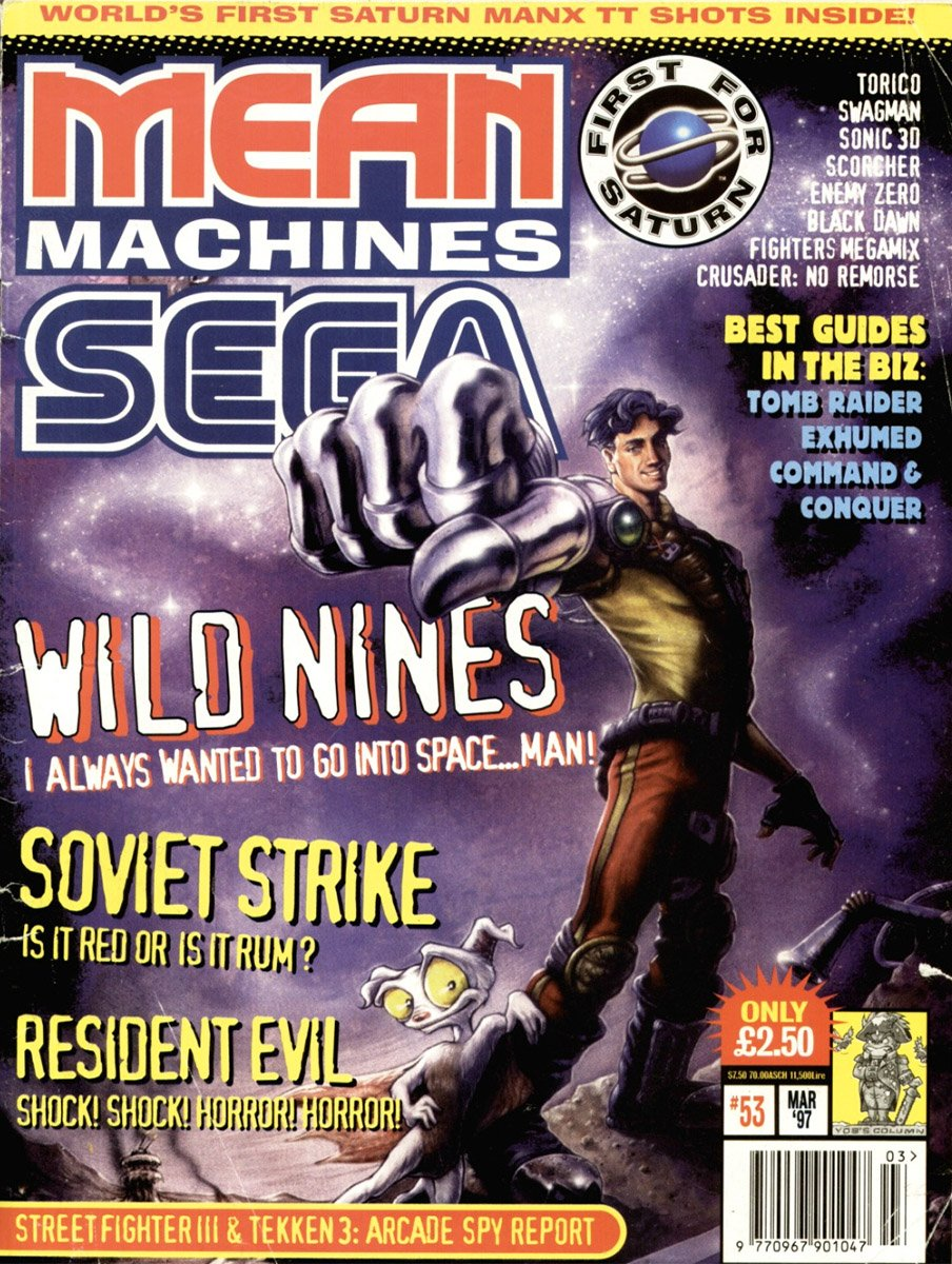 Mean Machines Sega Issue 53 (March 1997)