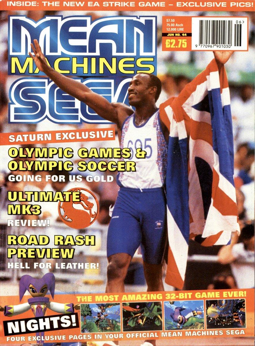 Mean Machines Sega Issue 44 (June 1996)