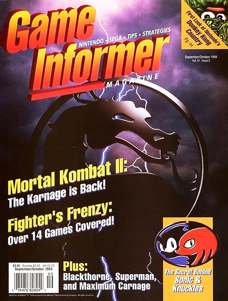 Game Informer Issue 018 September/October 1994