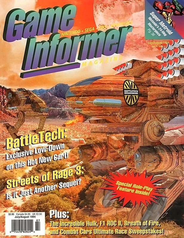 Game Informer Issue 017 July/August 1994