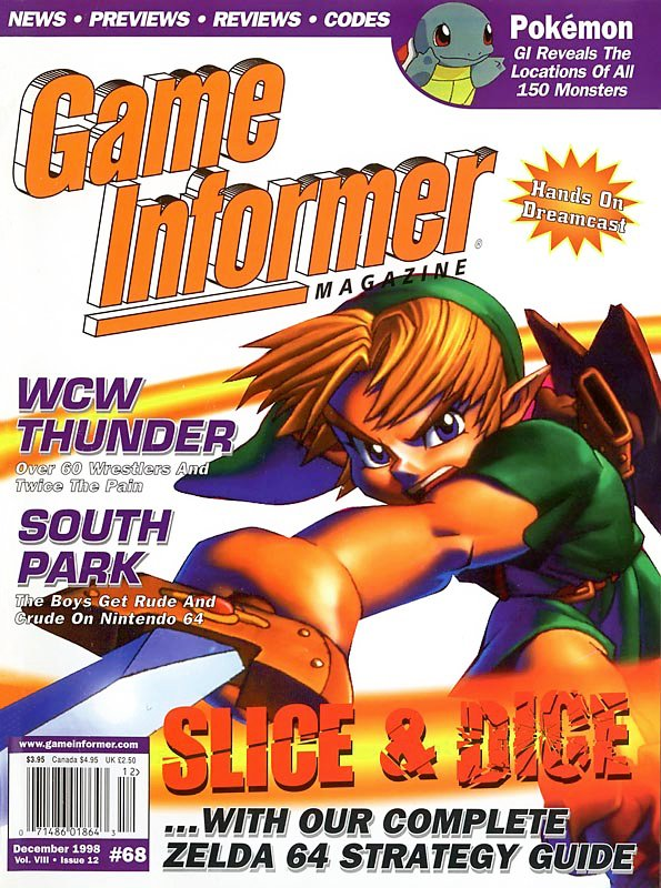 Game Informer Issue 068 December 1998