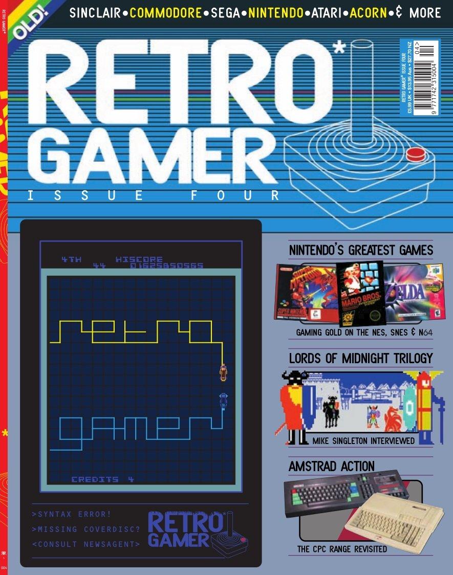 Retro Gamer Issue 004 (July 2004)