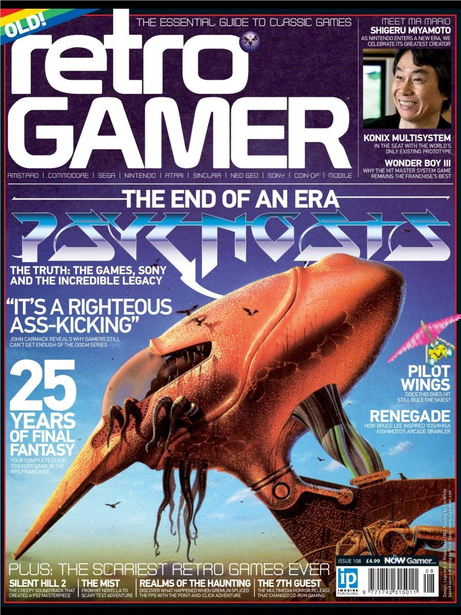 Retro Gamer Issue 108 (November 2012)