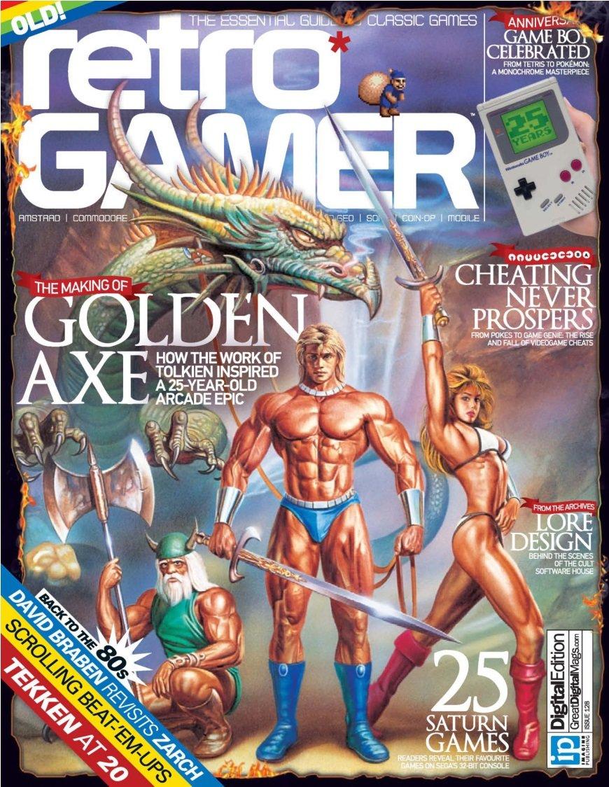 Retro Gamer Issue 128 (May 2014)