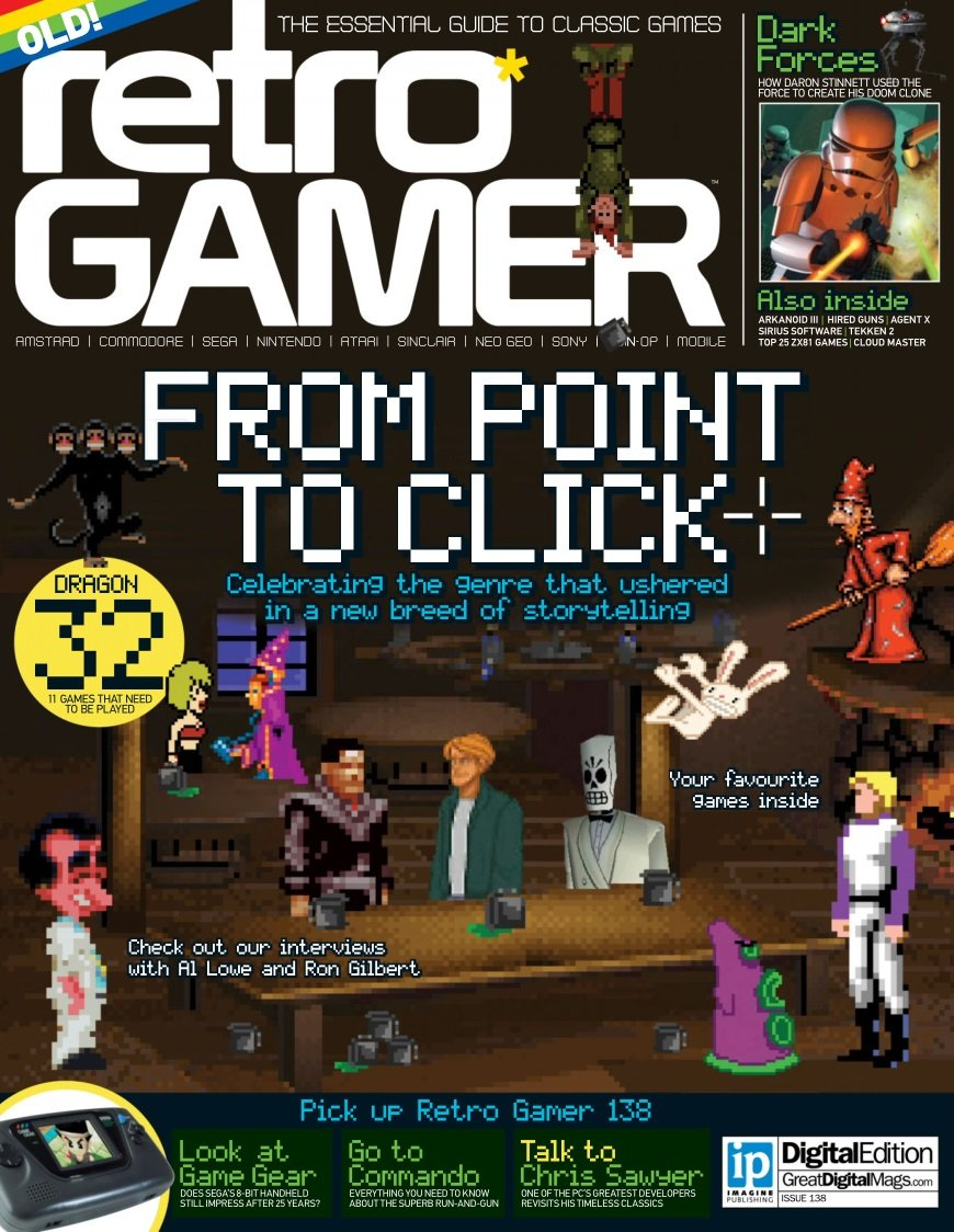 Retro Gamer Issue 138 (February 2015)