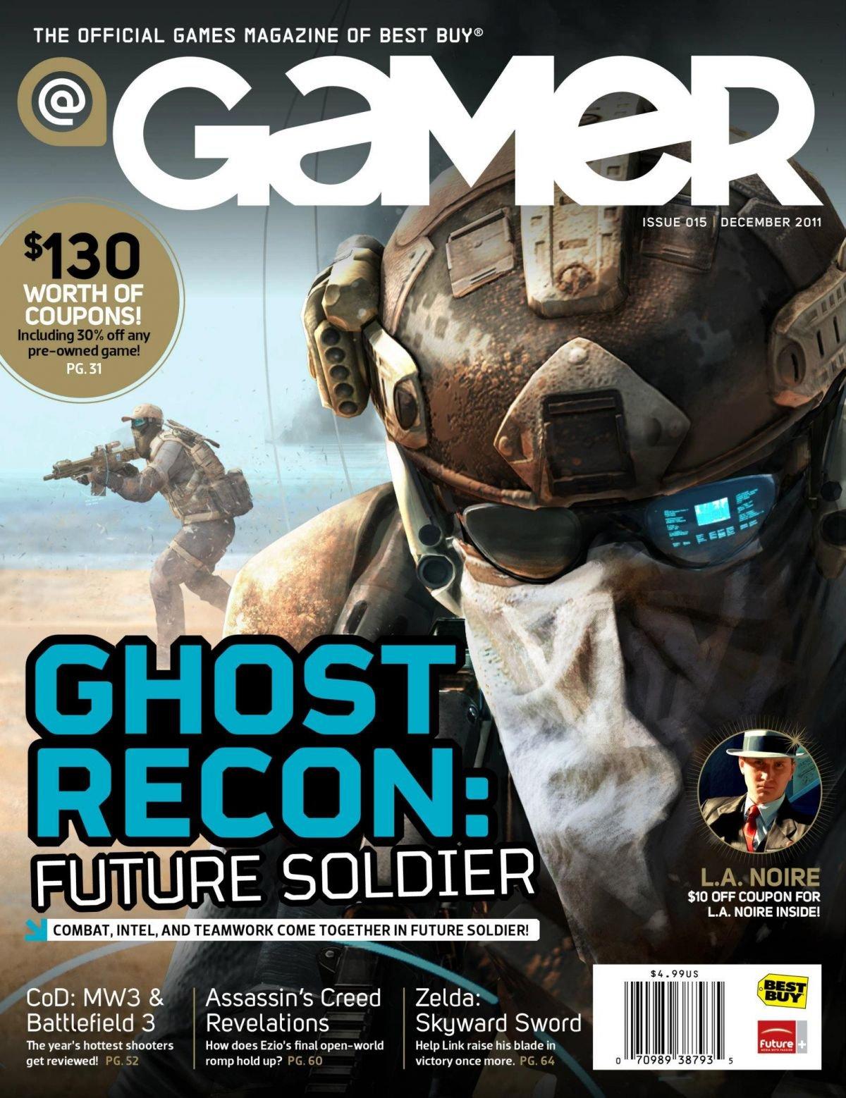 @Gamer Issue 015 (December 2011)