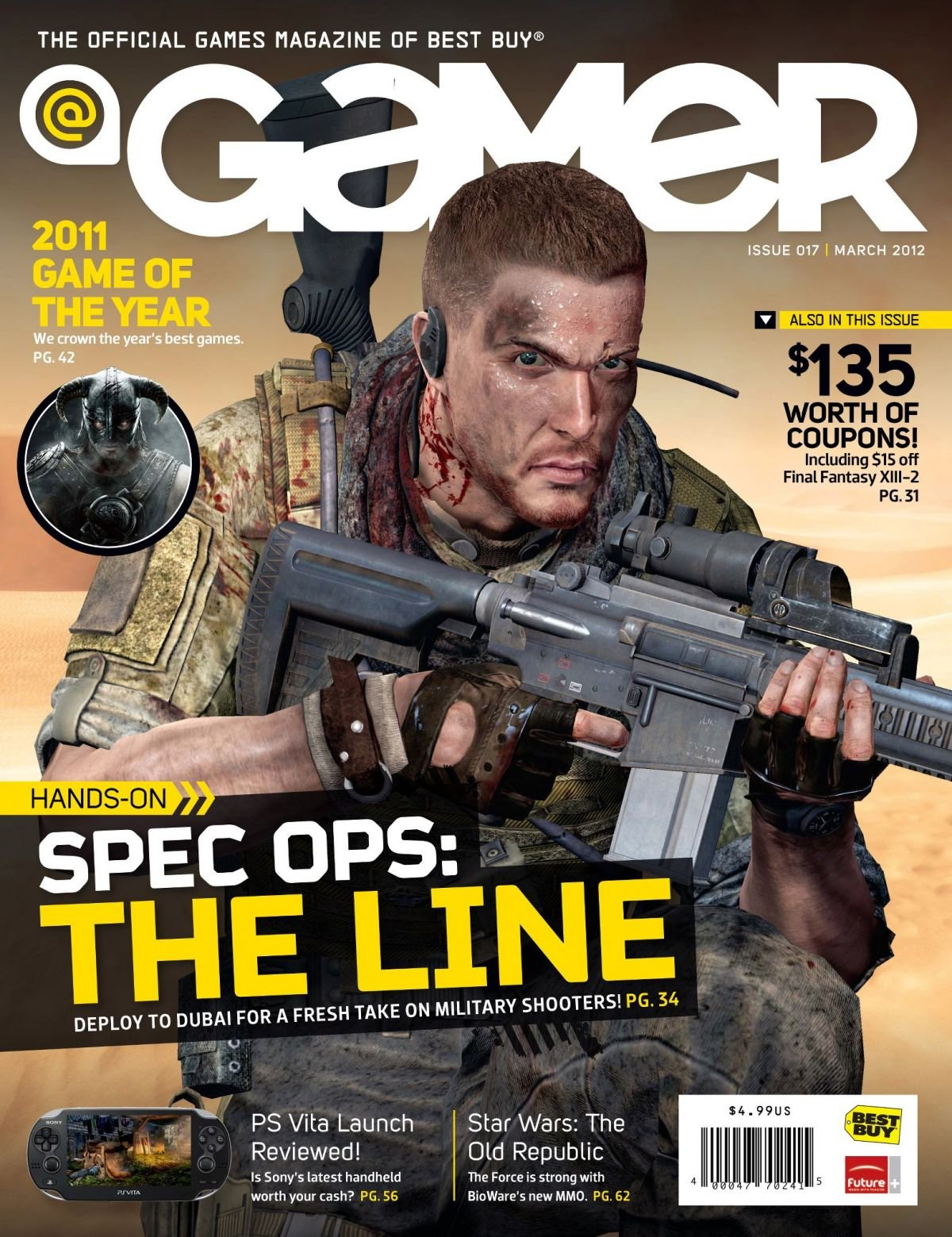 @Gamer Issue 017 (March 2012)