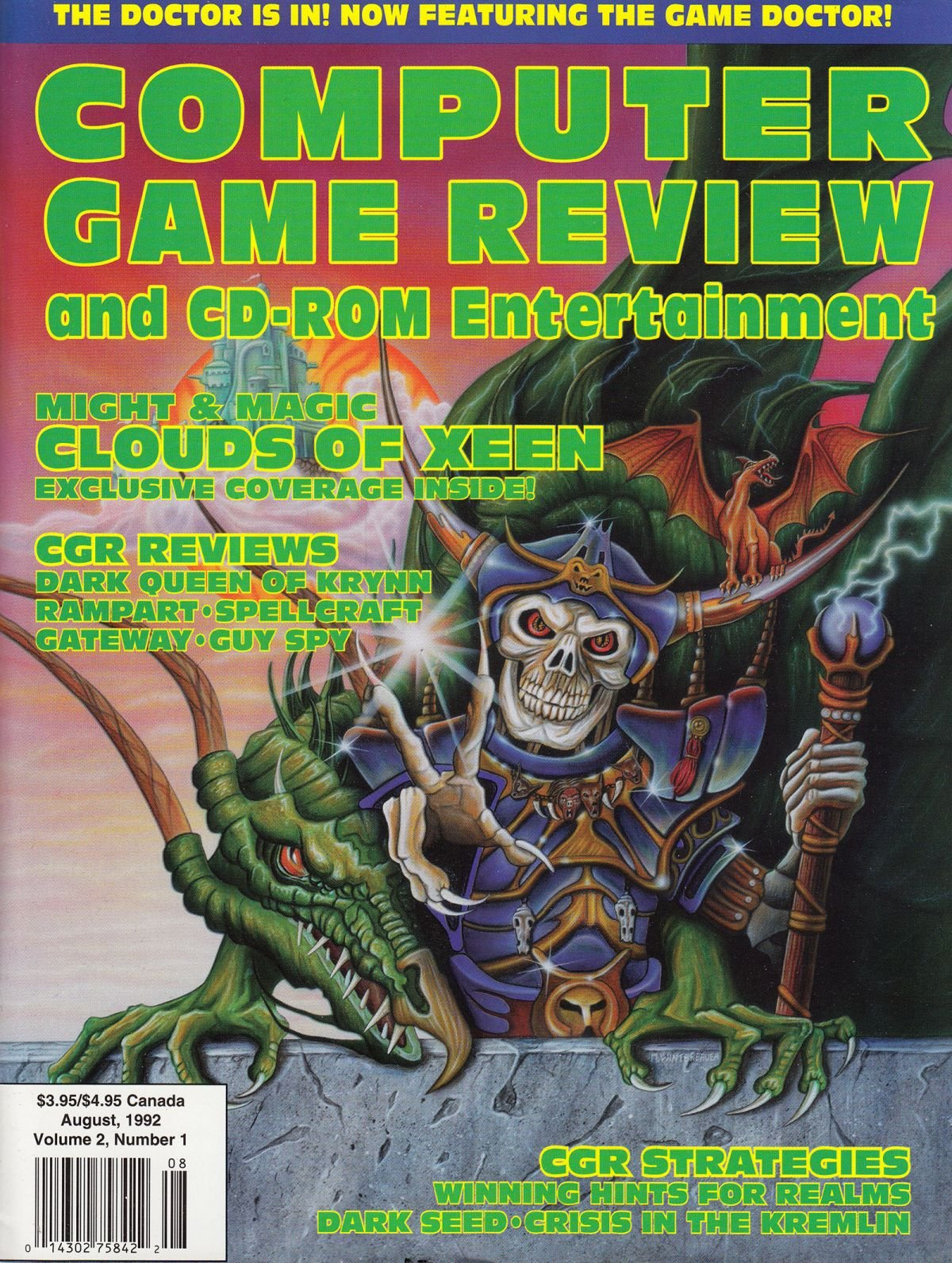 Computer Game Review Issue 13 (August 1992)