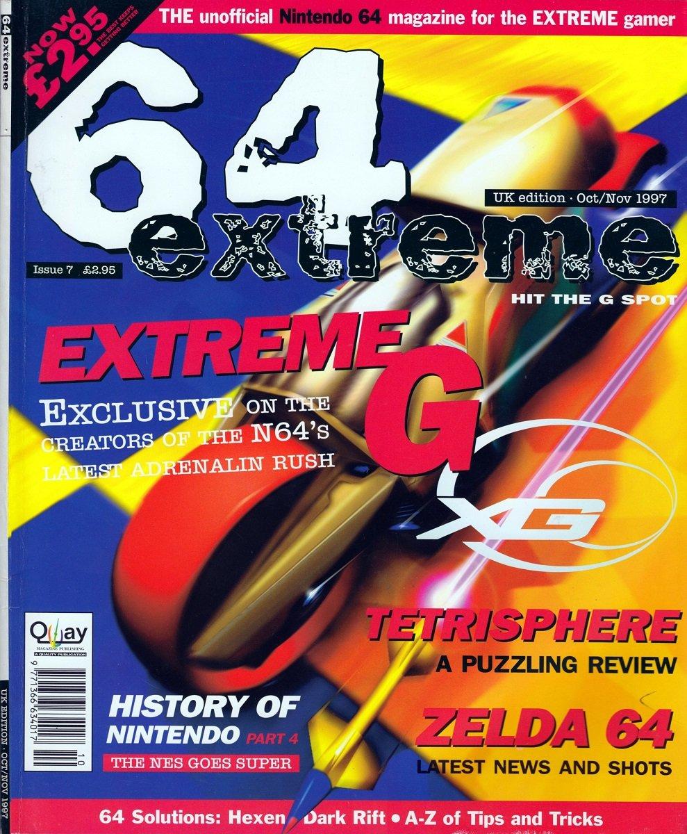 64 Extreme Issue 07 (October/November 1997)