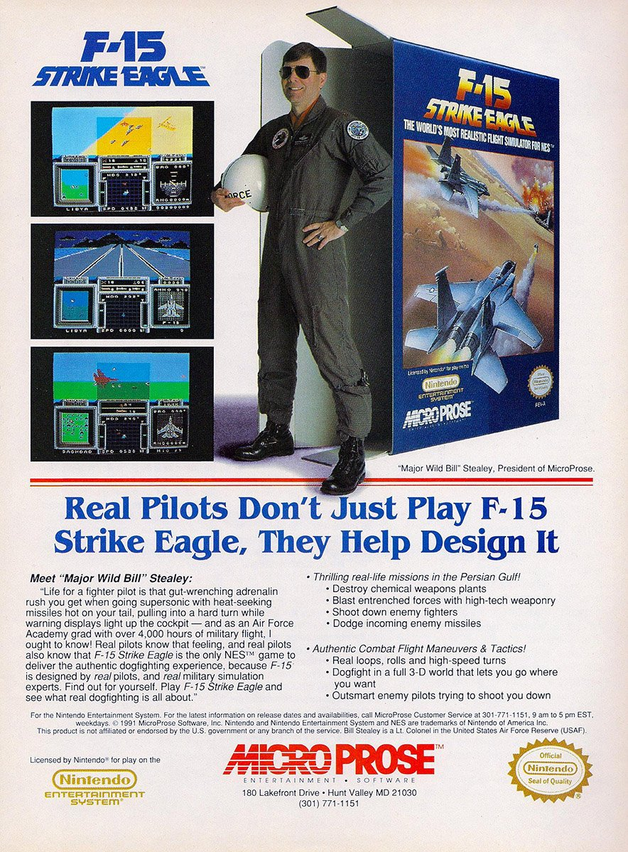 F-15 Strike Eagle Nintendo