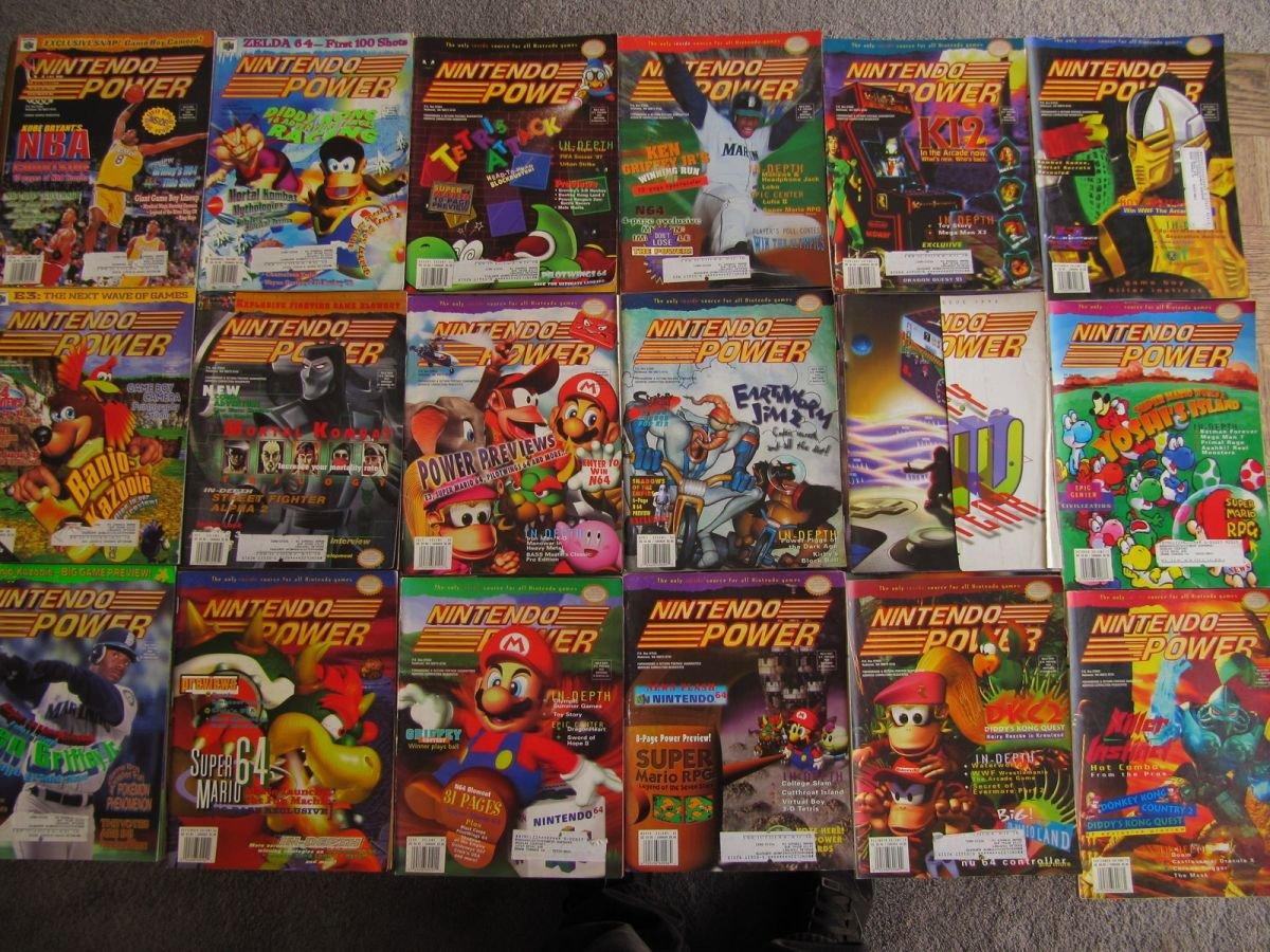 Nintendo Power Lot Picture 2