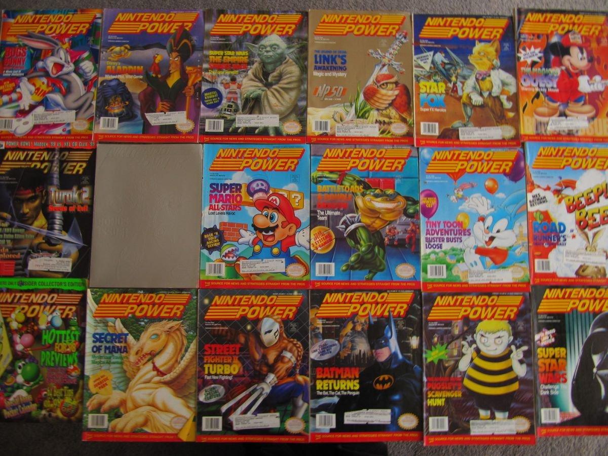 Nintendo Power Lot Picture 11