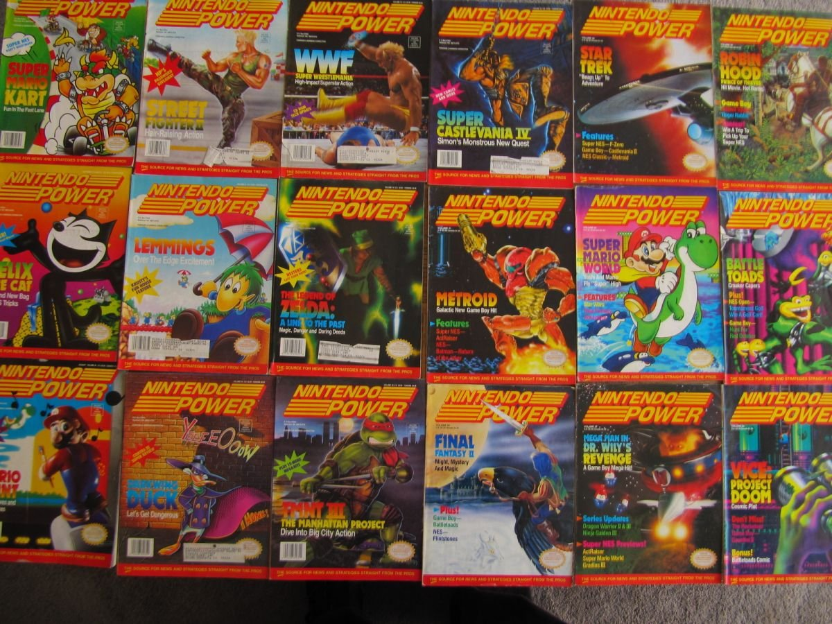 Nintendo Power Lot Picture 9
