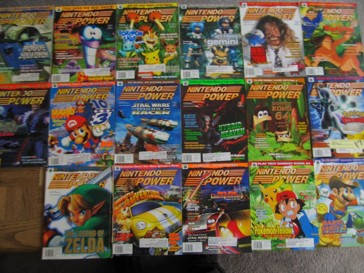 Nintendo Power Lot Picture 4