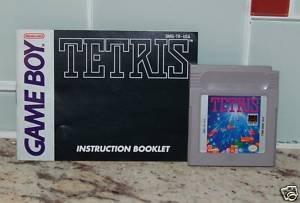 Tetris Gameboy with manual