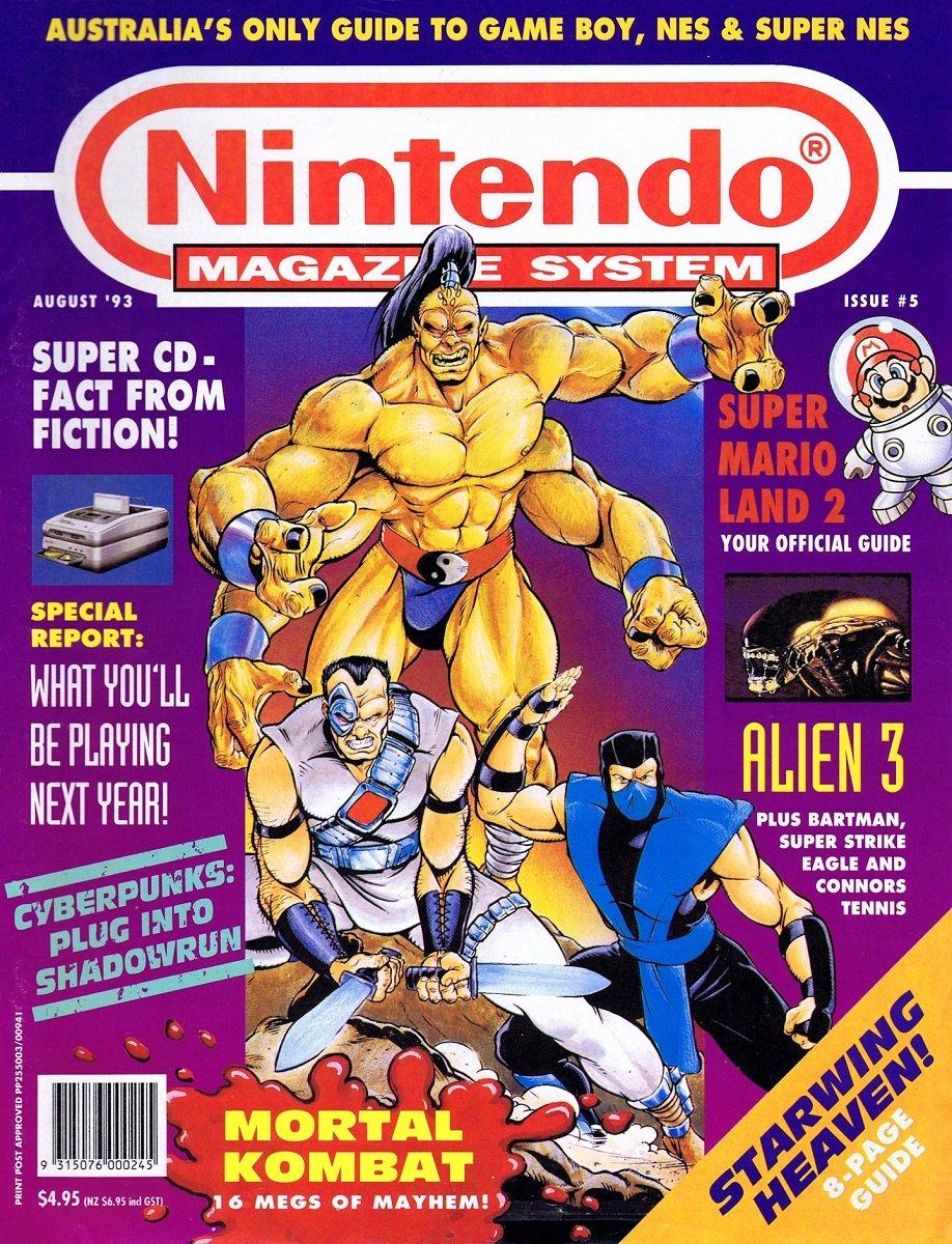 Nintendo Magazine System (AUS) 005 (August 1993)