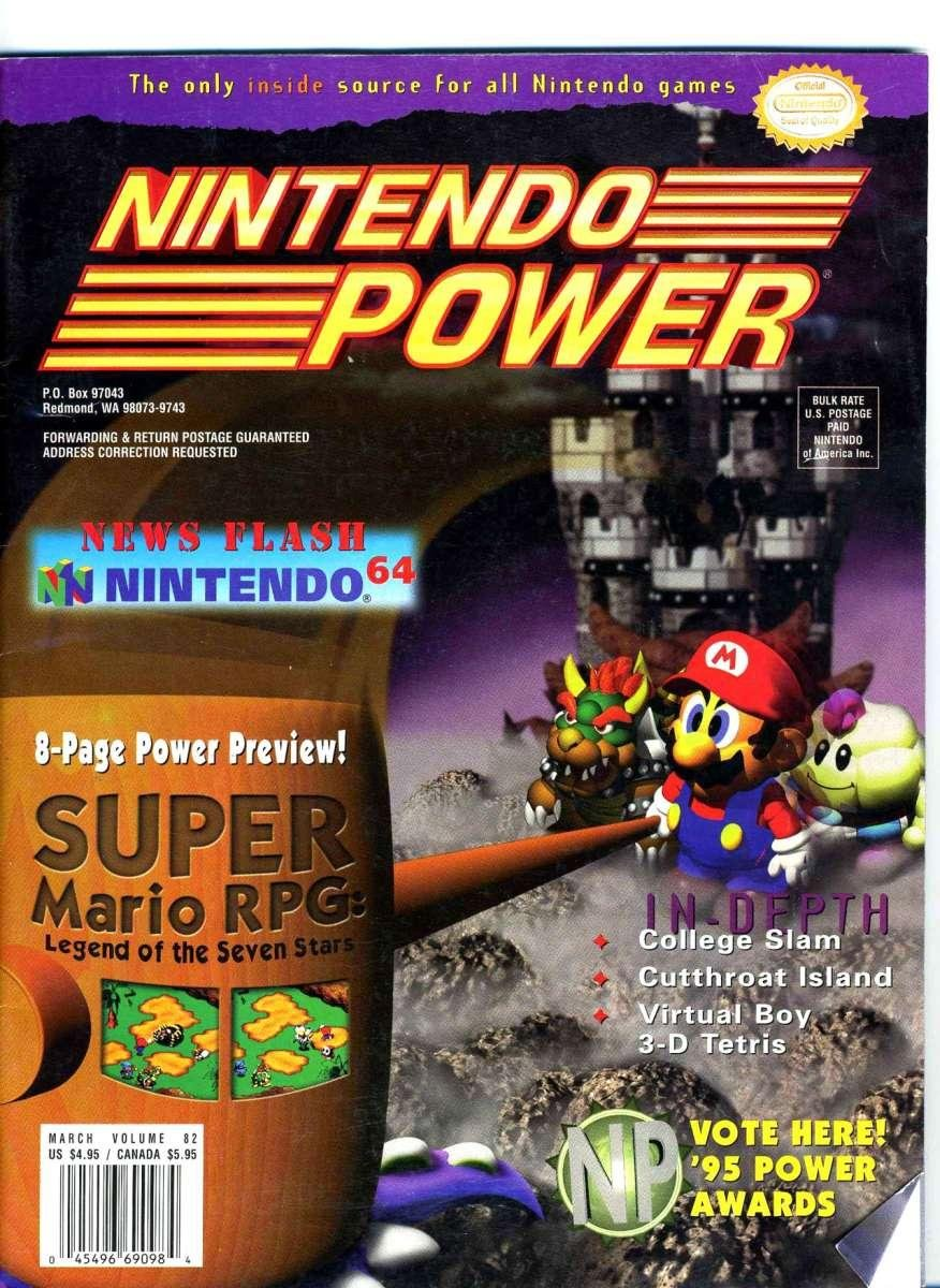 Nintendo Power Issue 082 (March 1996)