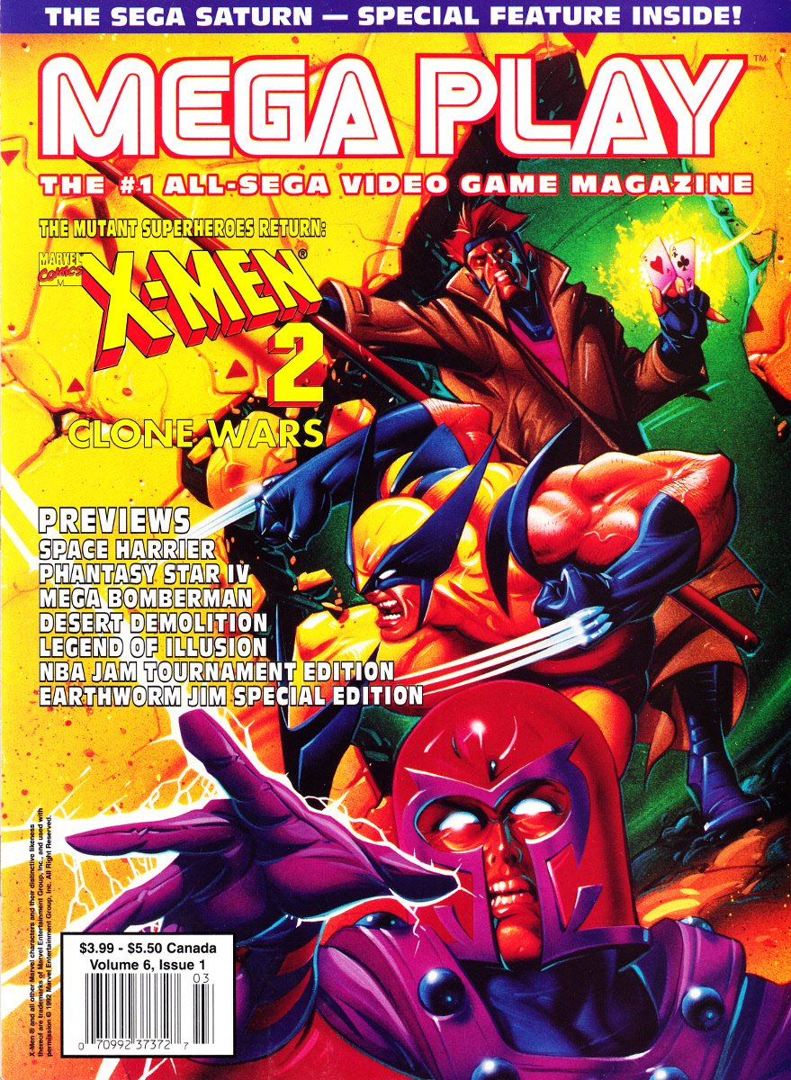 Mega Play Vol.6 No.1 February/March 1995
