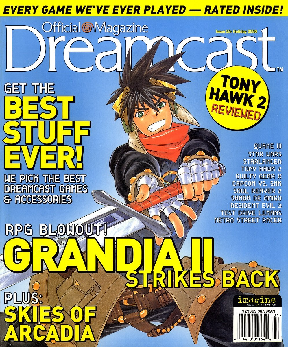 Official Sega Dreamcast Magazine Issue 010 (Holiday 2000)