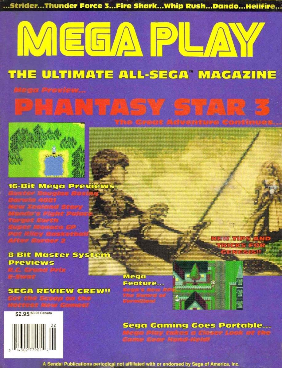 Mega Play Vol.1 No.1 Fall 1990