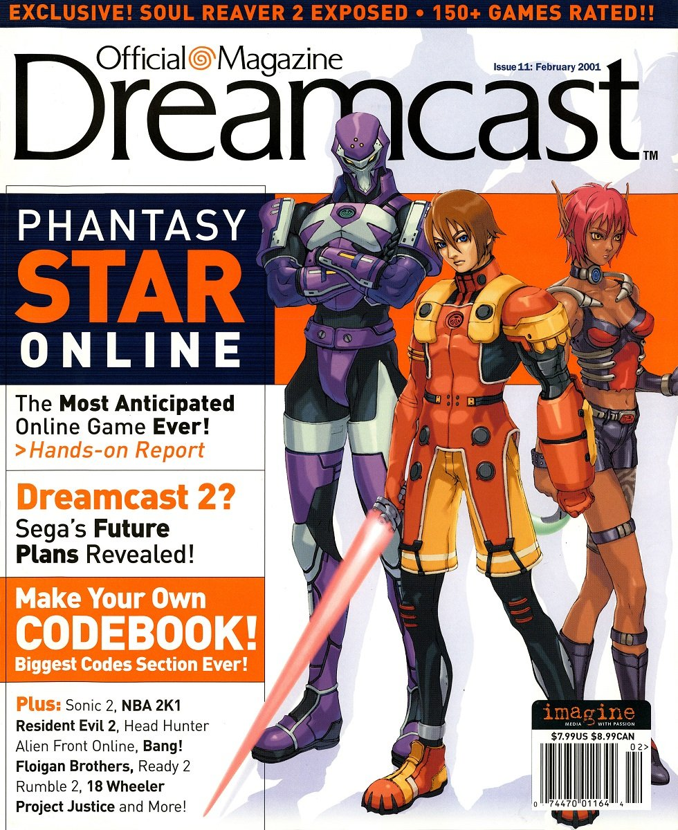 Official Sega Dreamcast Magazine Issue 011 (February 2001)