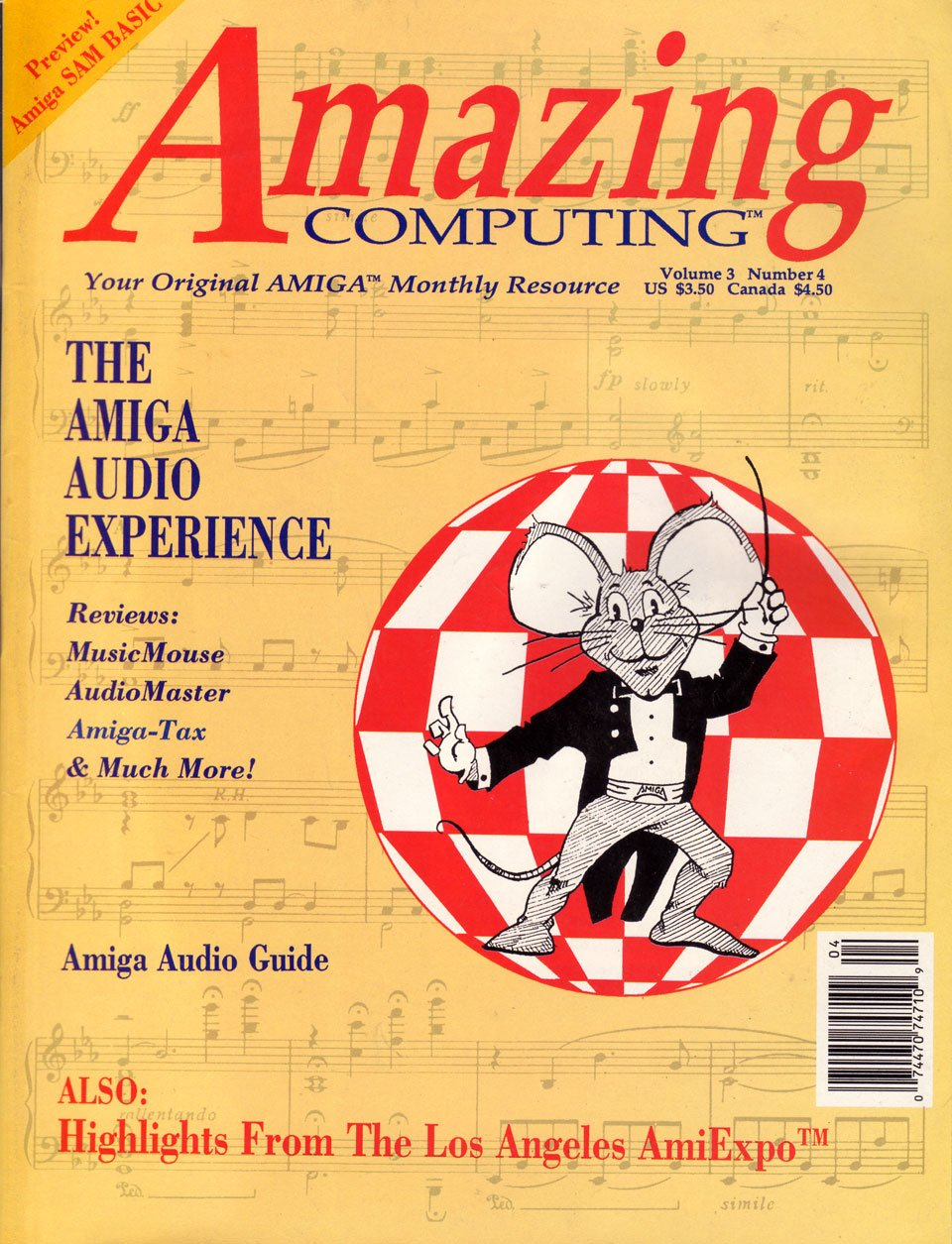 Amazing Computing Issue 025 Vol. 03 No. 04 (April 1988)