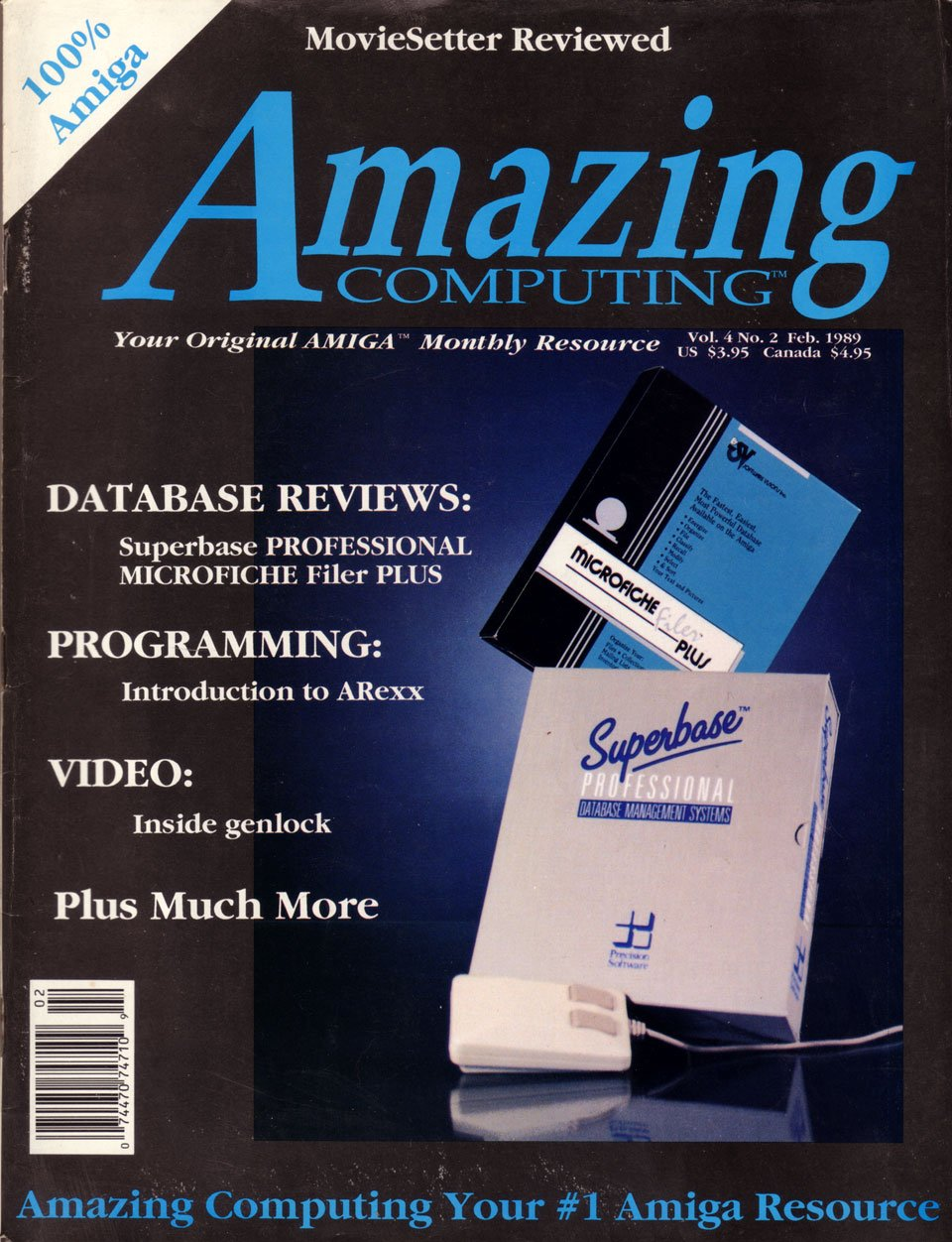Amazing Computing Issue 035 Vol. 04 No. 02 (February 1989)