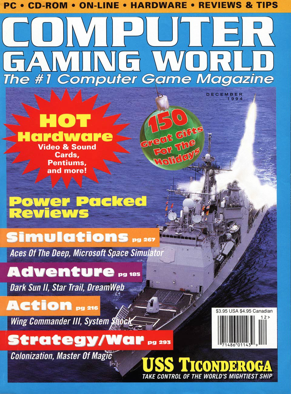 Computer Gaming World Issue 125 December 1994