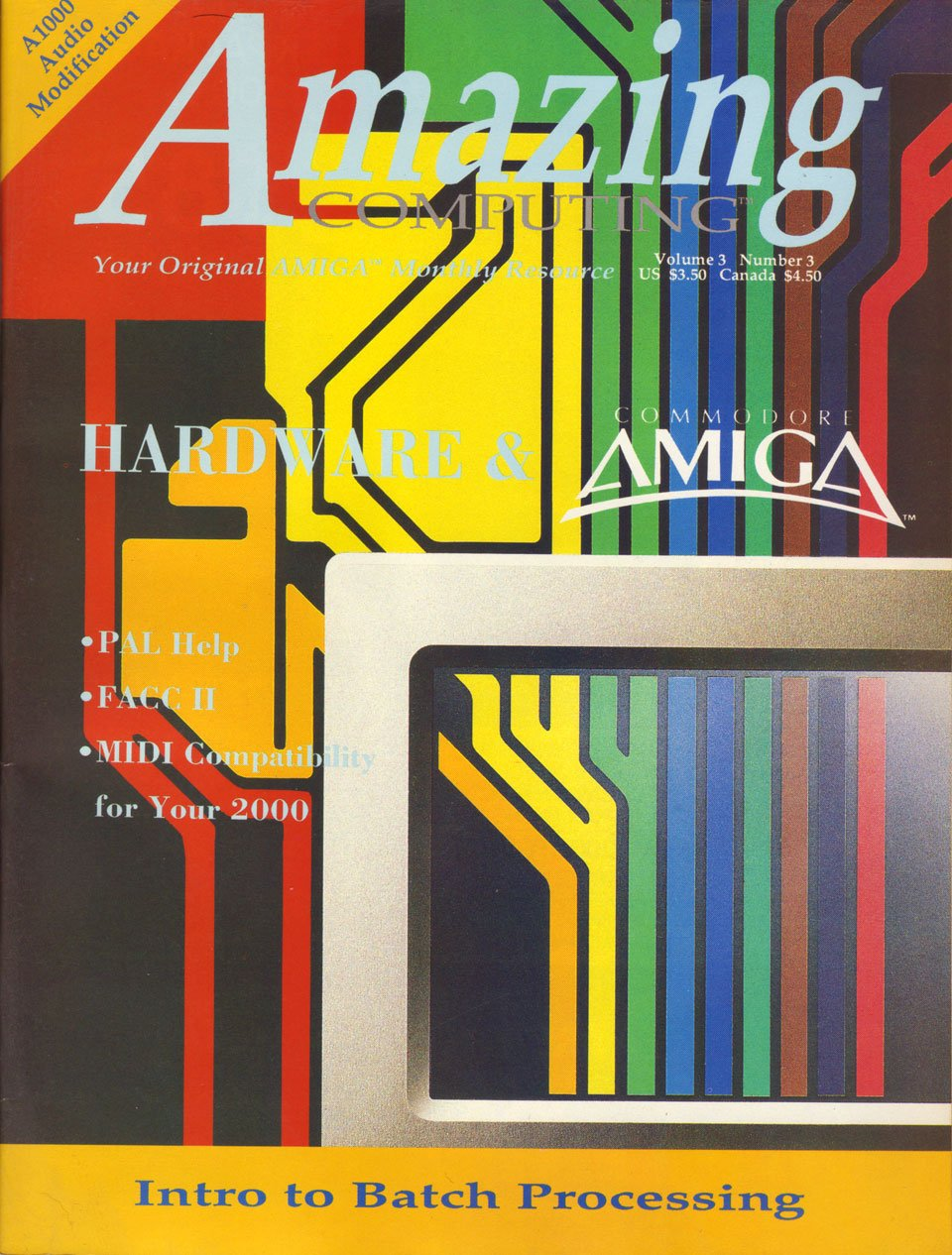 Amazing Computing Issue 024 Vol. 03 No. 03 (March 1988)