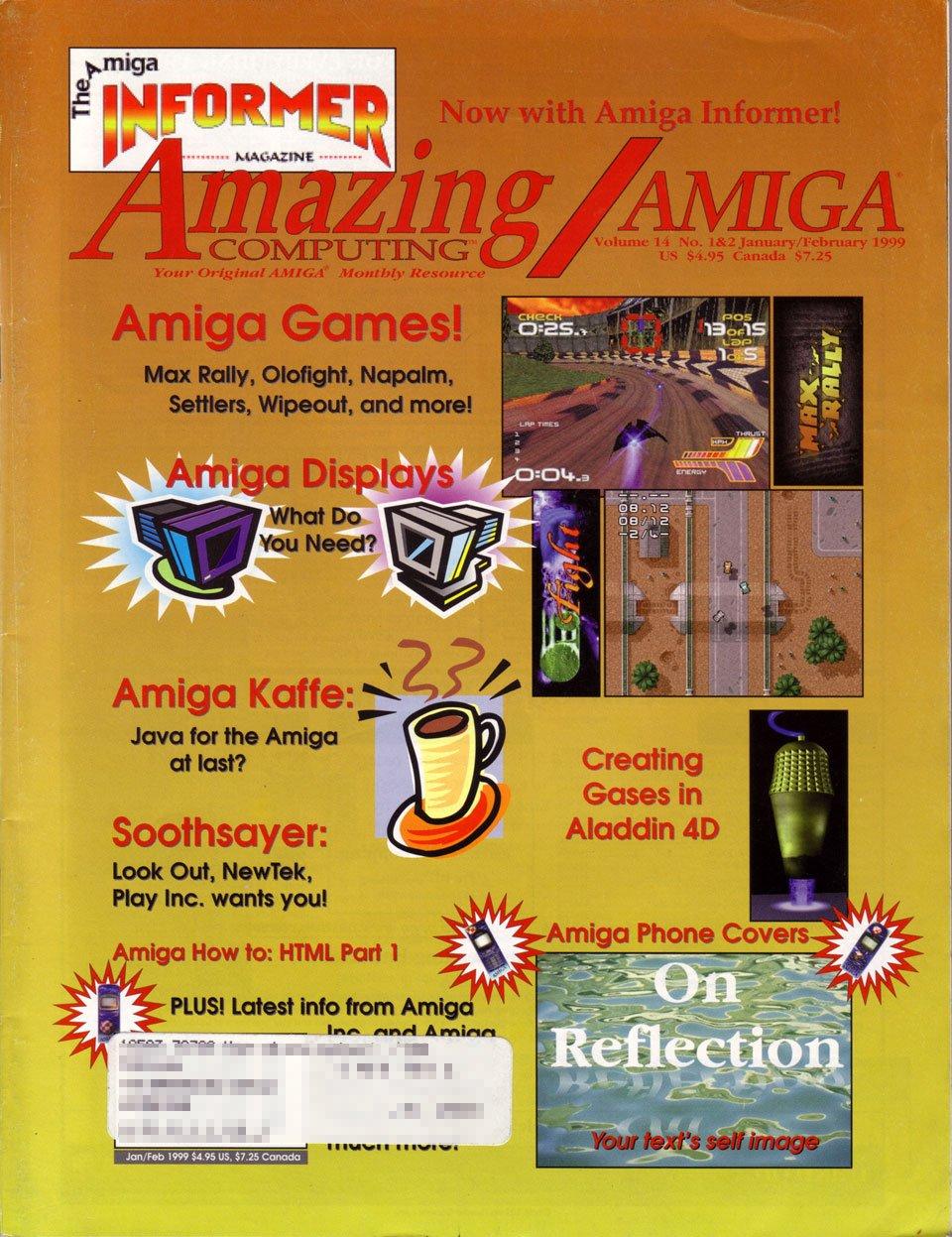 Amazing Computing Issue 151 Vol. 14 No. 01/02 (January/February 1999)
