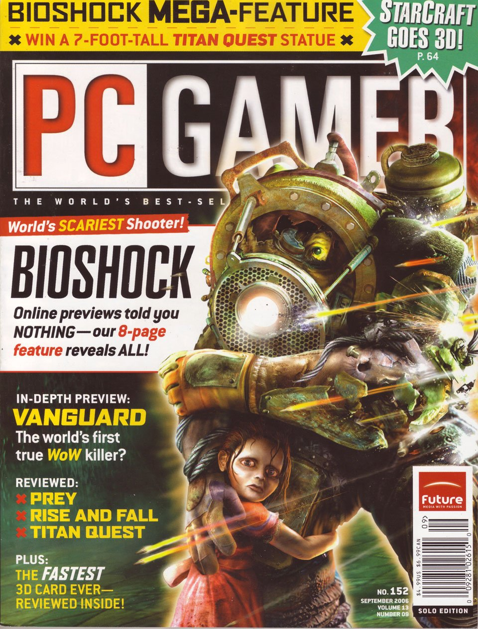 PC Gamer Issue 152 September 2006