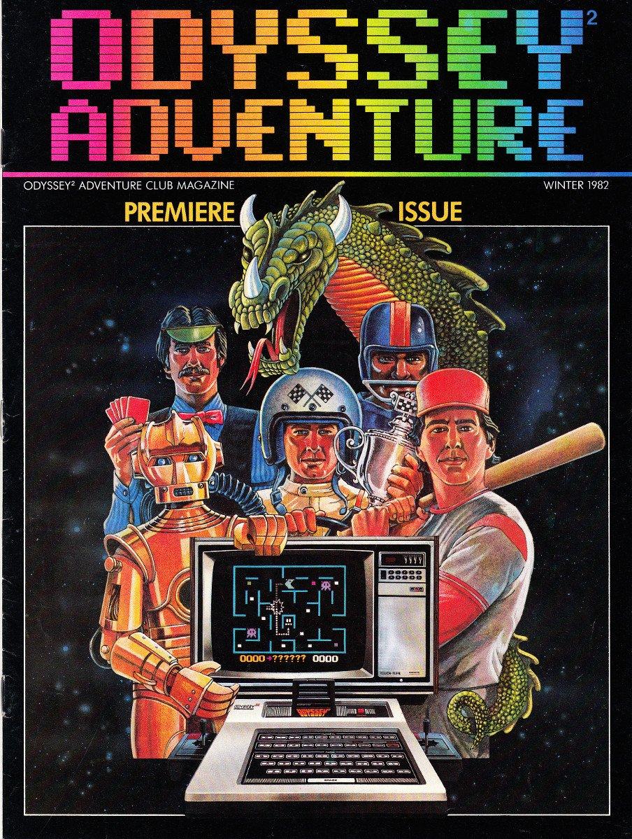 Odyssey Adventure Issue 001 (Winter 1982)