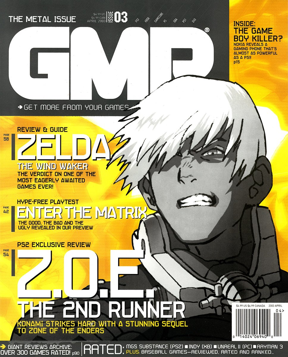 GMR Issue 03 April 2003 cover 2