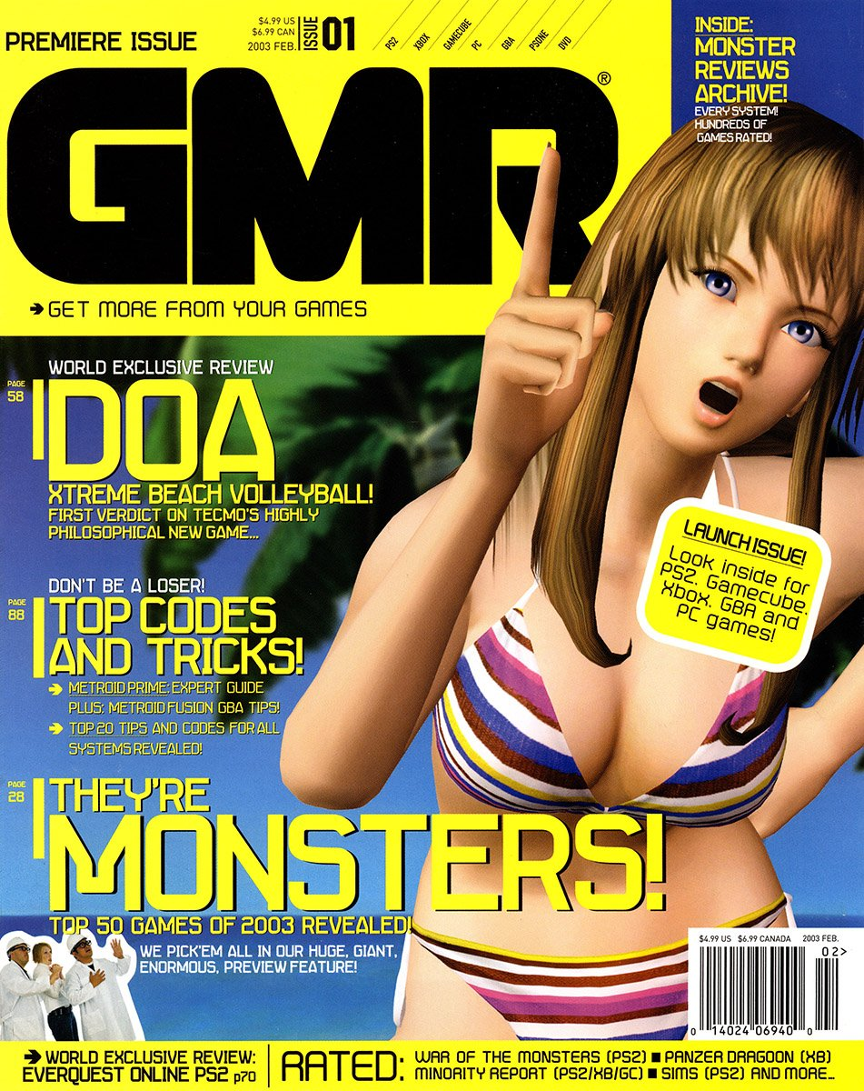 GMR Issue 01 February 2003