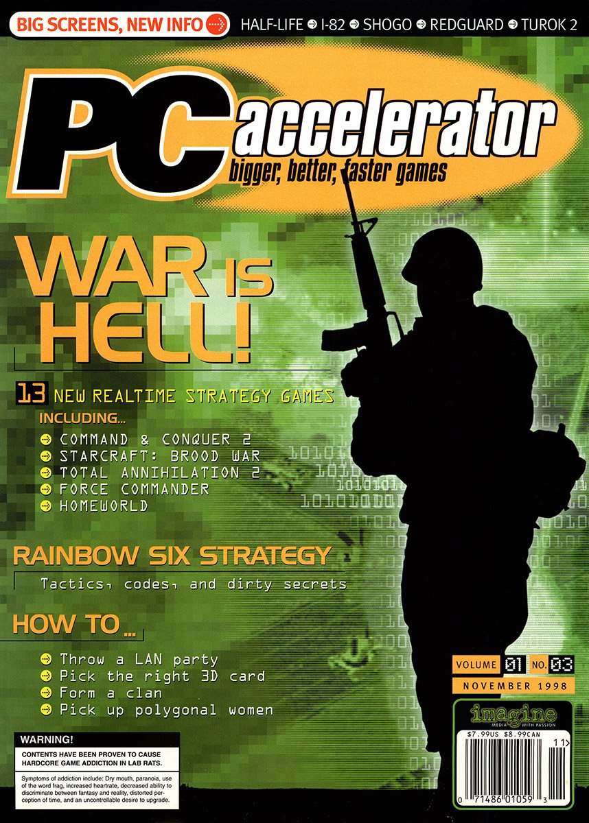 PC Accelerator Issue 003 November 1998