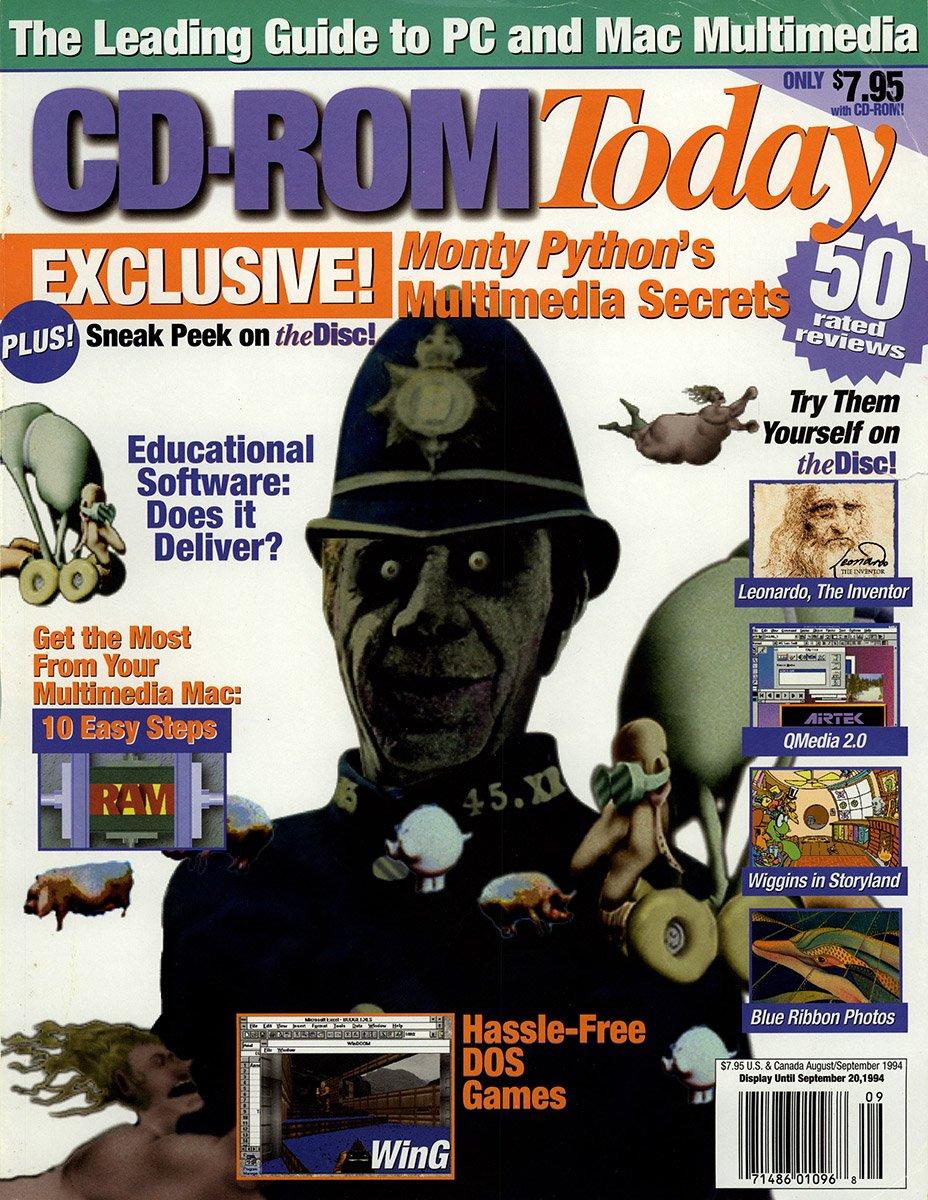 CD-ROM Today 07 August/September 1994