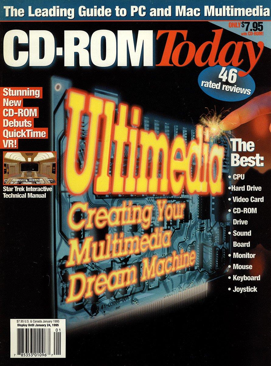 CD-ROM Today 11 January 1995
