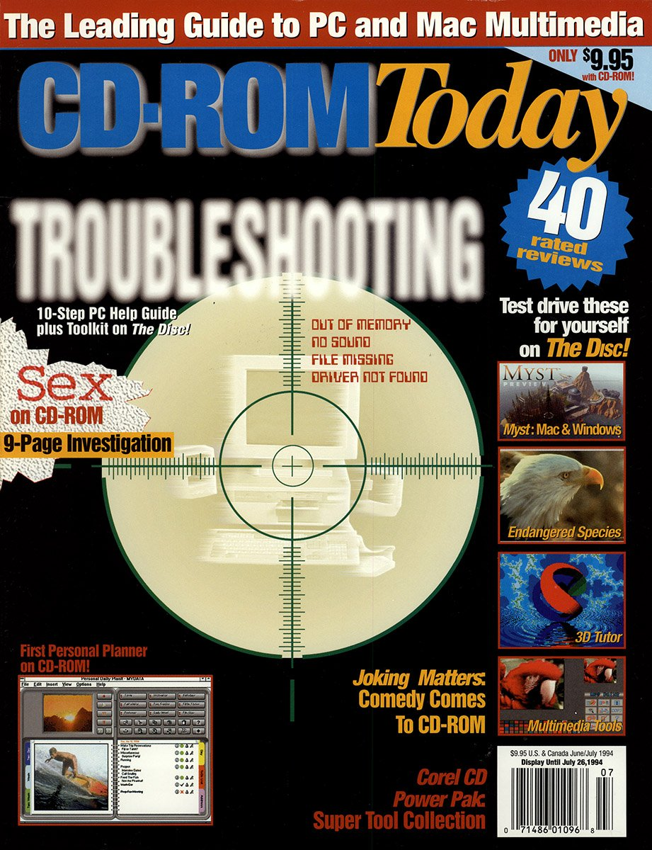 CD-ROM Today 06 June/July 1994