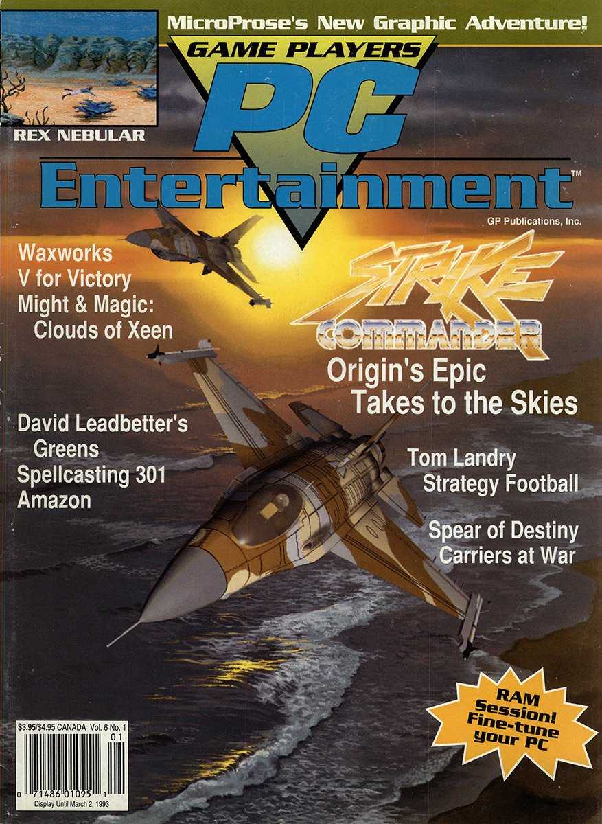 Game Players PC Entertainment Vol.6 No.1 (January/February 1993)