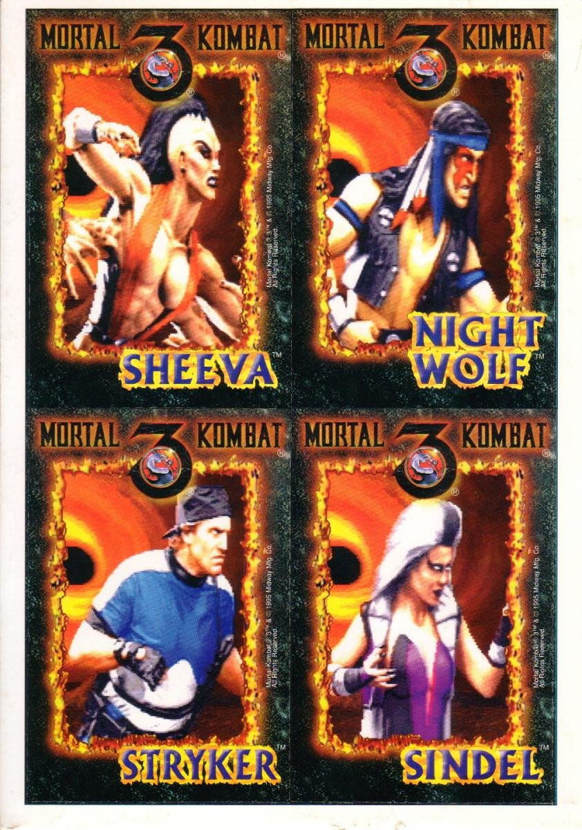 MK3 Cards #1 Front