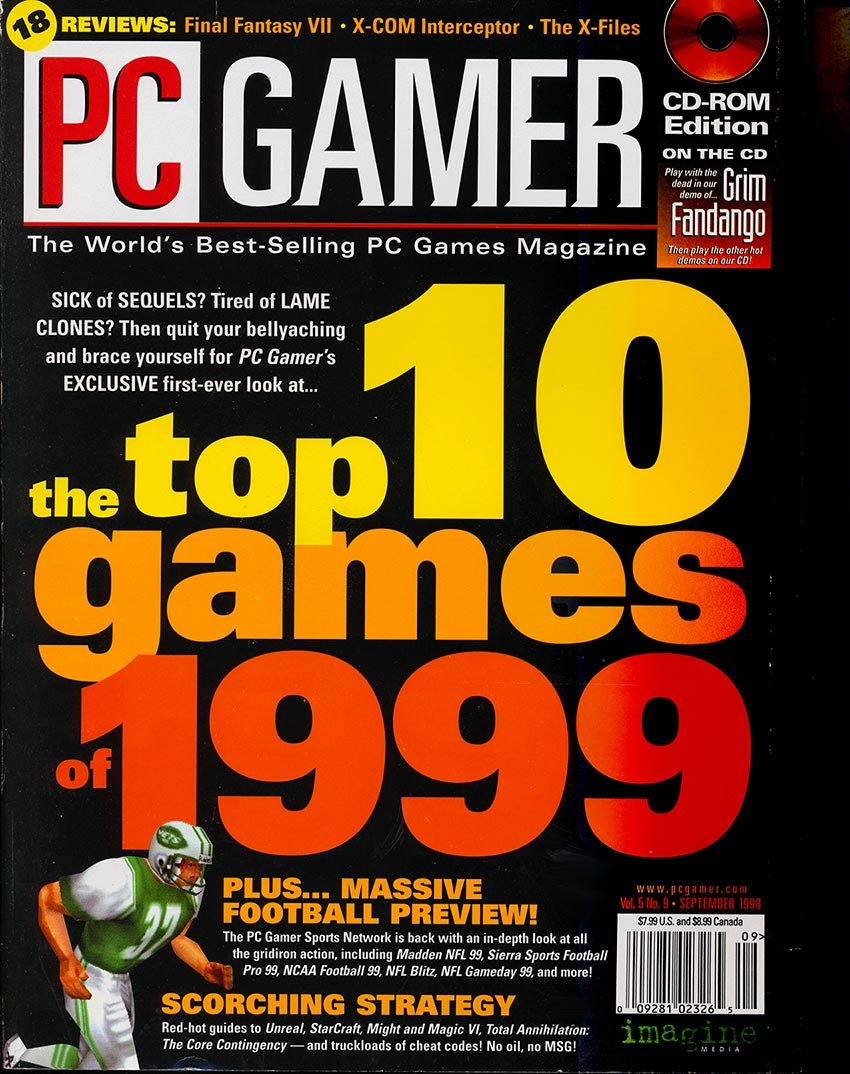 PC Gamer Issue 052 September 1998